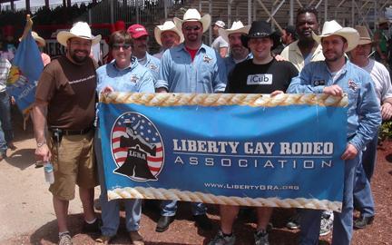 from Nolan liberty gay rodeo association